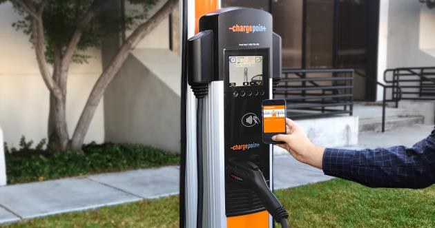 ChargePoint Network Charging Station