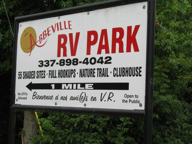Abbeville RV Park
