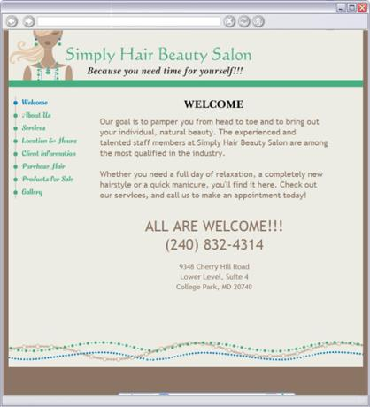Simply Hair Beauty Salon