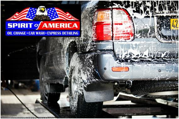 Spirit of America Car Wash and Oil Change