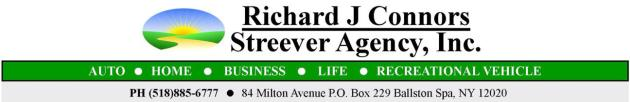 Richard J. Connors & Streever Agency, Inc