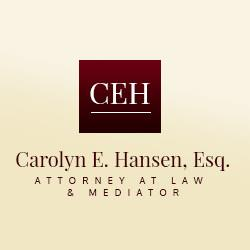 Carolyn E. Hansen, Esq., Attorney at Law & Mediator